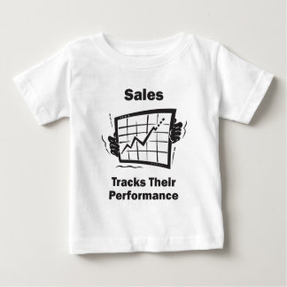 Sales Tracks Their Performance Tshirts