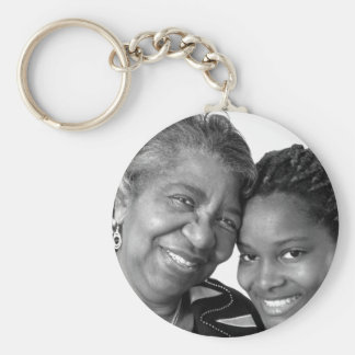Sales Women Black and White Key Chain