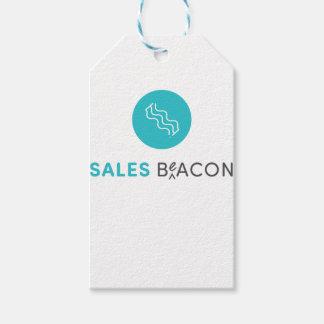 SalesBeacon - Bacon - Grey Gift Tags