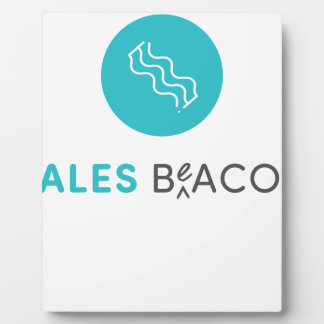 SalesBeacon - Bacon - Grey Plaque