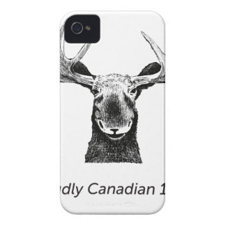 SalesBeacon - Bacon - Moose - Black Case-Mate iPhone 4 Cases