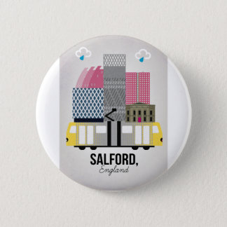 Salford 6 Cm Round Badge