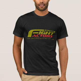 Salford Fight Factory Tshirt front logo clear