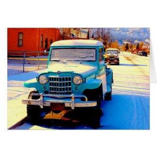 """Salida, CO Morning"" Note Cards"