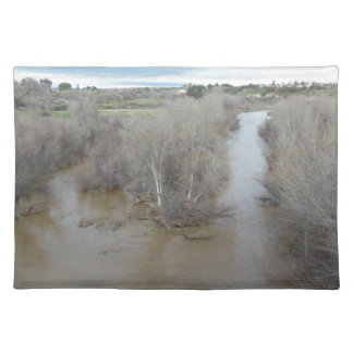 Salinas River from Vineyard Bridge, Templeton, CA Placemat