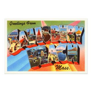 Salisbury Beach Massachusetts MA Travel Souvenir Art Photo