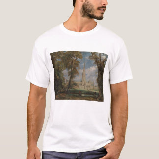 Salisbury Cathedral from the Bishop's Grounds T-Shirt
