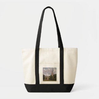 Salisbury Cathedral from the south west Canvas Bag