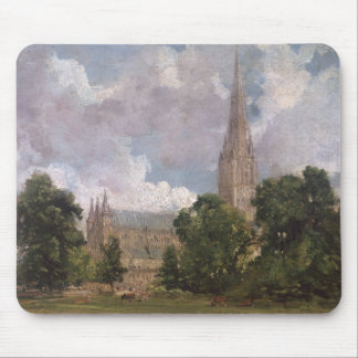 Salisbury Cathedral from the south west Mousepad