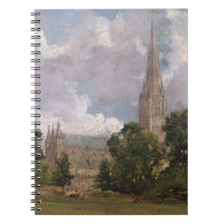Salisbury Cathedral from the south west Spiral Note Books