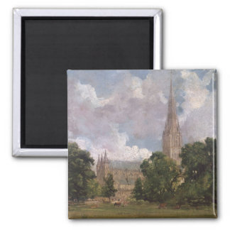 Salisbury Cathedral from the south west Square Magnet