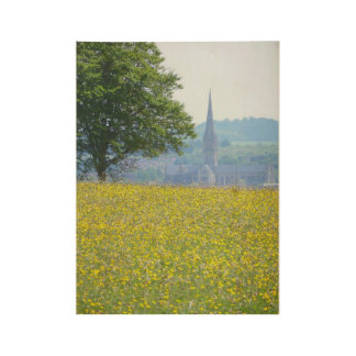 Salisbury Cathedral Wood Poster