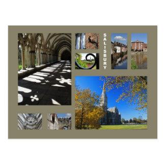 Salisbury postcard