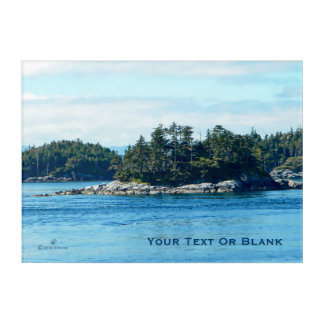Salish Island Acrylic Print