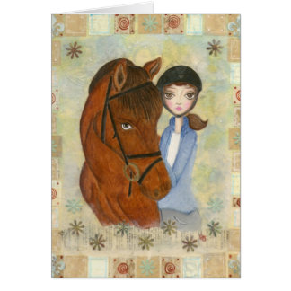 Sallie and Esco Greeting Card