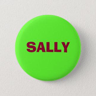SALLY 6 CM ROUND BADGE
