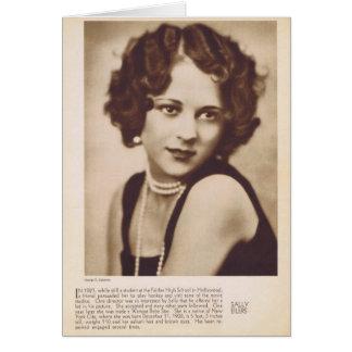 Sally Eilers vintage portrait card