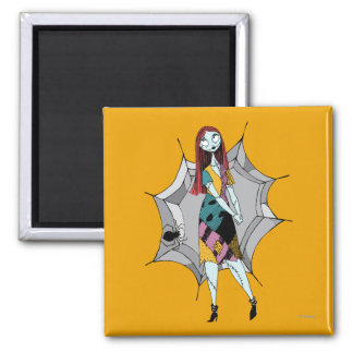 Sally in Spider Web Magnet