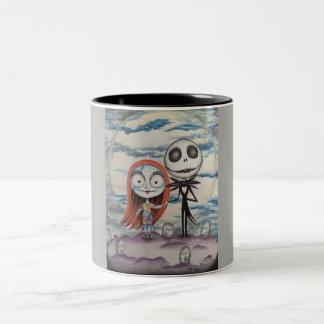 Sally Loves Jack: two tone mug! Two-Tone Coffee Mug