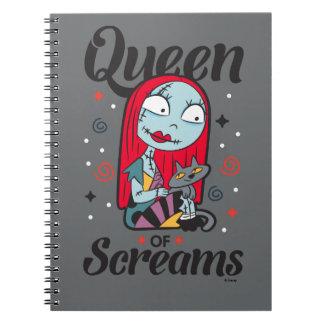 Sally | Queen of Screams Notebook