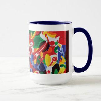 Sally Rayn: White Horse mug
