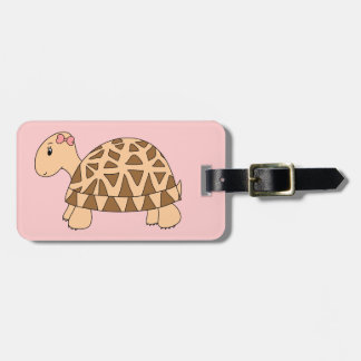 Sally Star Tortoise Luggage Tag