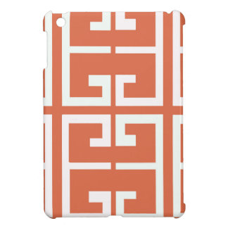 Salmon and White Tile iPad Mini Cases