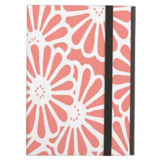 Salmon Asian Moods Floral Cover For iPad Air