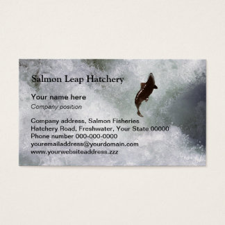 Salmon business card