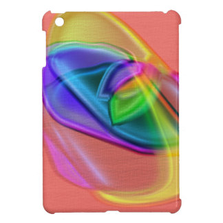 Salmon Color Mix Case For The iPad Mini