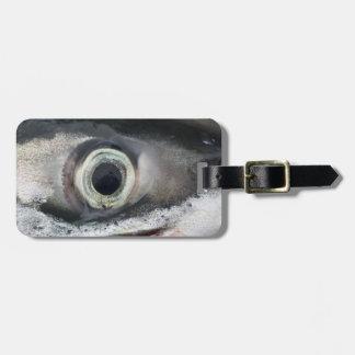 Salmon Eye Luggage Tag