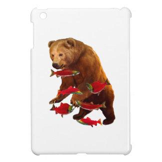 Salmon fishing iPad mini case