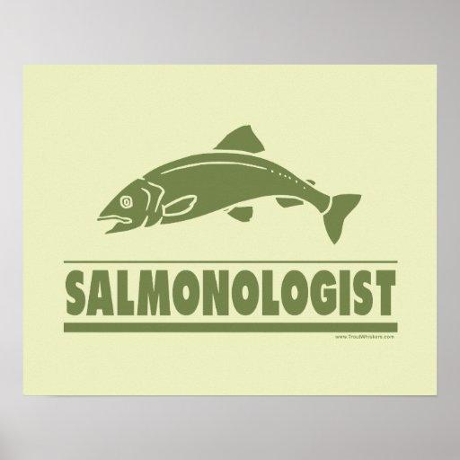 Salmon Fishing Print