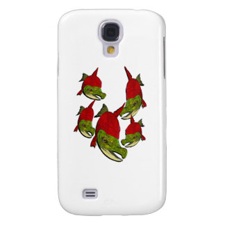 Salmon Flow Samsung Galaxy S4 Cases