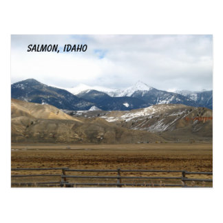 Salmon, Idaho Postcard