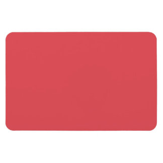 Salmon Peach Pink Fashion Color Trend 2014 Blank Rectangular Photo Magnet