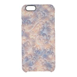 Salmon Pink Tsunami Ocean Tidal Wave Color Sea Clear iPhone 6/6S Case