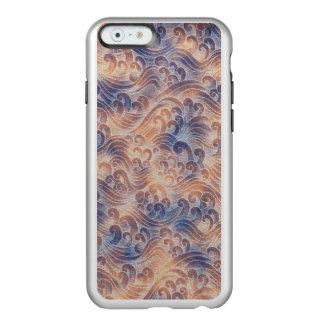 Salmon Pink Tsunami Ocean Tidal Wave Color Sea Incipio Feather® Shine iPhone 6 Case