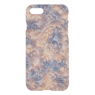 Salmon Pink Tsunami Ocean Tidal Wave Color Sea iPhone 7 Case