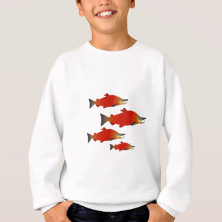 Salmon Rally Sweatshirt