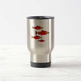 Salmon Rally Travel Mug