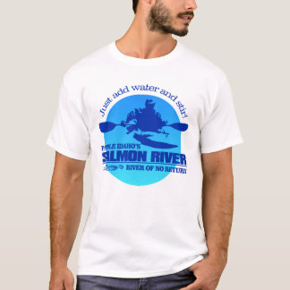 Salmon River (Blue) T-Shirt