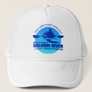 Salmon River (Blue) Trucker Hat