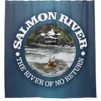 Salmon River (c) Shower Curtain