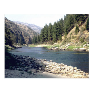 Salmon River Summer Postcard