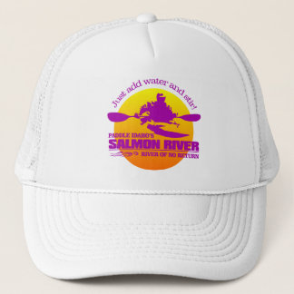 Salmon River (Sunset) Trucker Hat