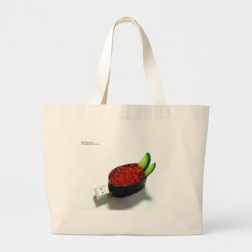 Salmon Roe Sushi Gifts Tees Mugs Cards Etc. Canvas Bag