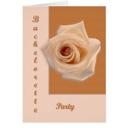 Salmon Rose Greeting Cards
