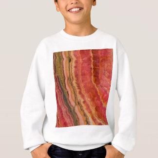 Salmon Striped Quartz Sweatshirt