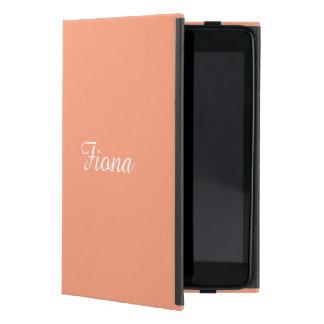 Salmon Sunset Personalized iPad Mini Case